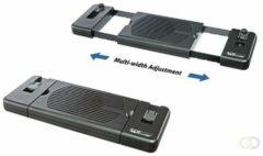Zwarte NB ACC NEWSTAR NS-LC200 Laptop Cooler in breedte verstelbaar