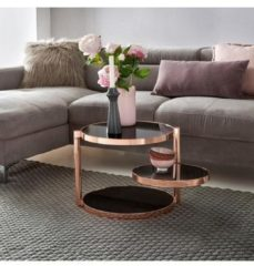 Home affaire Beistelltisch »REVAN« mit drei runden Tischplatten