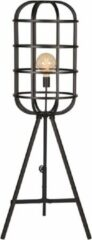 LABEL51 Vloerlamp 'Twine', Metaal, 145cm, kleur Zwart