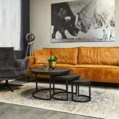 Leren sofa Bono   4-zits