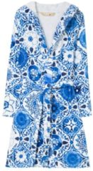 Desigual - unisex - Bademantel mit Print - Think In Blue - Think In Blue - Size L
