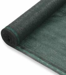 VidaXL Tennisnet 1.2x50 m HDPE groen