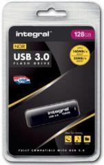 Zwarte Integral 128GB USB 3.0 128GB USB 3.0 (3.1 Gen 1) USB-Type-A-aansluiting Zwart USB flash drive