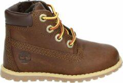 Timberland Jongens Veterboots Pokey Pine 6in Boot Kids - Bruin - Maat 22