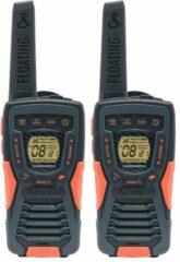 Insmat AM-1035PMR 8kanalen 446.00625 - 446.09375MHz Zwart, Oranje twee-wegradio