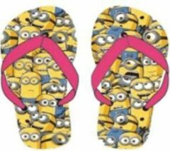 Roze Minions slippers mt 31/32