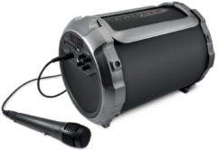 Universeel Draagbare Bluetooth® tube luidspreker met ingebouwde batterij en 'Sing-Along' optie