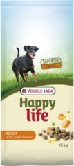 Versele-Laga Happy Life Adult Hondenvoer - Beef 15kg