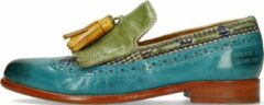 Turquoise Melvin & Hamilton Dames Loafers Selina 3