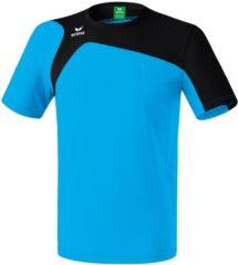 Blauwe Erima Club 1900 2.0 T-shirt Senior Sportshirt - Maat S - Unisex - blauw/zwart
