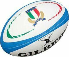 Rode Gilbert Italy Official Replica rugbybal maat 5
