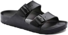 Zwarte Birkenstock Arizona EVA Normaal Heren Slippers - Black - Maat 45