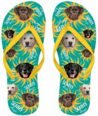 Groene Merkloos / Sans marque Slipper Flip Flop Labrador maat 37-39