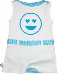 Blauwe Tromper Baby Rompertje 98/104