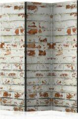Rode Kamerscherm - Scheidingswand - Vouwscherm - Brick Story [Room Dividers] 135x172 - Artgeist Vouwscherm