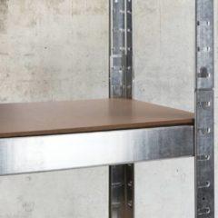 Huismerk Premium Robuuste Schappenstellage - 75 x 30 x 172 cm