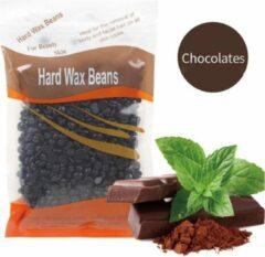 DW4Trading® Hard wax beans 100 gr ontharen harsen lichaam gezicht spatels Chocolates