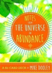 Hay House Inc Notes from the Universe on Abundance