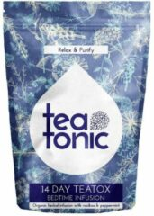 Teatonic BEDTIME INFUSION bio kruidenthee om doeltreffend af te vallen