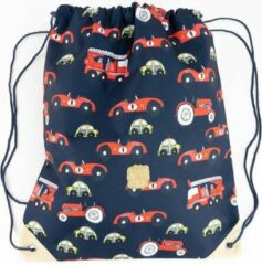 Pick & Pack Schooltas Cars Gymbag Blauw