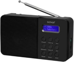 Denver DAB-33BLACK Draagbaar Analog & digital Zwart radio