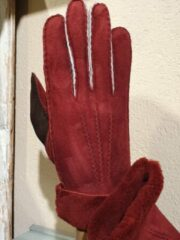 Kessler Ilvy Glove Dames Handschoenen donkerrood Maat 7