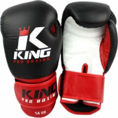 King Bokshandschoenen KPB/BG 1 Zwart / Rood