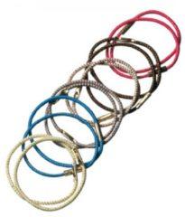 Groene Comair Pony-tail elastiekjes middel 12 stuks