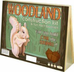 Professor Puzzle Animal Construction Kit - Woodland Cyrill Squirrel