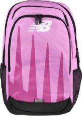New Balance Oversidez Print Backpack BG01010GCYK, Vrouwen, Roze, Rugzak maat: One size