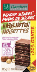 Damhert Tagatesse Chocoladetablet Hazelnoten Melk 85gr