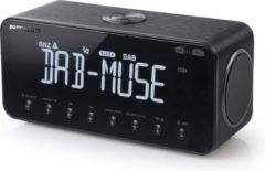 Zwarte Muse Electronics Muse M-196 DBT - DAB/DAB+ wekkerradio met Bluetooth