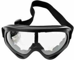 Faas Commerce Skibril - Snowboardbril - UV Beschermend - Verstelbare Ski/Snowboard bril - Unisex - Transparant glas
