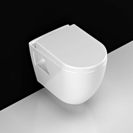 Afbeelding van Douche Concurrent Wandcloset - Hangend Toilet Aloni met Bidet - Inbouwtoilet Diepspoel