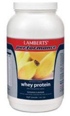 Lamberts Whey Protein Banana - 1000 gram - Eiwitshake