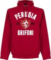 Retake Perugia Established Hoodie - Rood - S