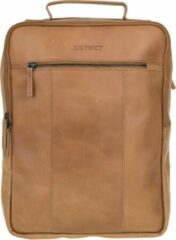 DSTRCT Riverside Backpack A4 16,4 inch 011430 Cognac