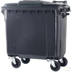 Ese 4 wiel container 770 liter grijs