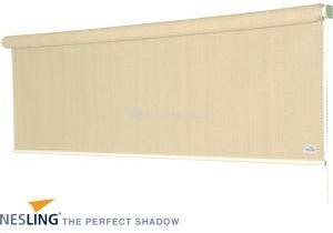 Afbeelding van Witte Rolgordijn - Nesling - Coolfit - Gebroken Wit - 1,48 x 2,4 m