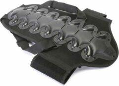 Zwarte T-Hansen Rugbeschermer met CE-goedkeuring - S