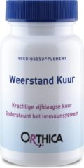 Orthica Weerstand Kuur Voedingssupplement - 30 Capsules