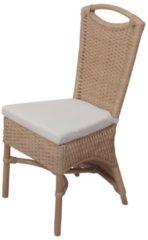 Möbel direkt online Moebel direkt online Rattanstuhl 2er-Set 2 Stühle aus Rattan, handgeflochten gebeizt und lackiert