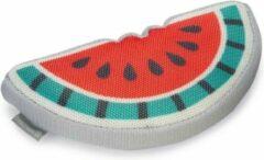 Beeztees mello - hondenspeelgoed - rood/groen/grijs - 21x11x4 cm
