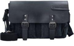 Green Burry Greenburry Black Sails 1177 Messenger Bag Black Notebooktasche / Tablet