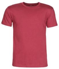Bordeauxrode T-shirt Korte Mouw BOTD MATILDO