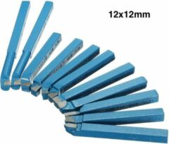 Blauwe Merkloos / Sans marque Beitelset - Beitelset 11 delig - 12x12 mm - Beitel