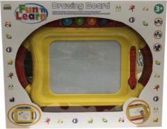 Cellular Kidz Corner Fun'n Learn Tekenbord met Pen en 4 Vormpjes