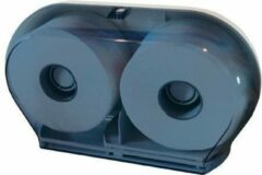Witte Marplast S.p.A Kunststof toiletpapier dispenser in transparant of glas voor dubbele WC-papier