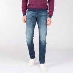 Blauwe Vanguard 5 Pocket Katoen VTR515-NBE Denim