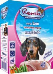 Renske Vers Vlees Hondenvoer - Lam - 10 Kuipjes - 395 gr